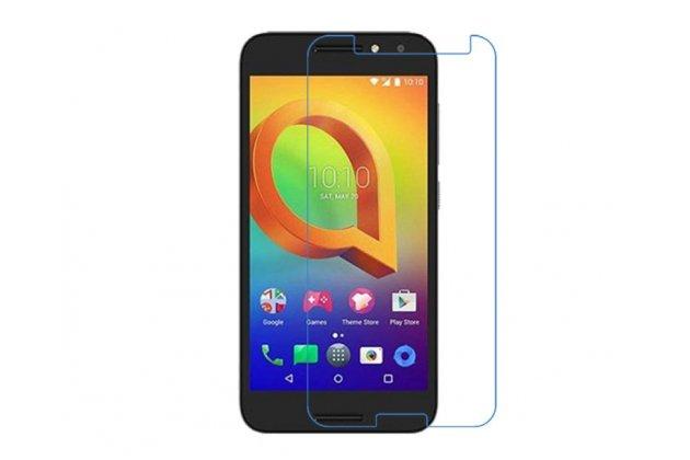 Фирменная оригинальная защитная пленка для телефона Alcatel A3 PLUS 3G 5011A глянцевая