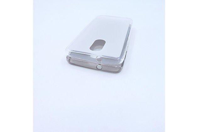 Фирменная ультра-тонкая полимерная из мягкого качественного силикона задняя панель-чехол-накладка для Alcatel A3 PLUS 3G 5011A белая