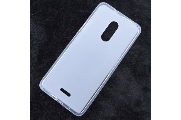 Фирменная ультра-тонкая полимерная из мягкого качественного силикона задняя панель-чехол-накладка для Alcatel 3C 5026D белая