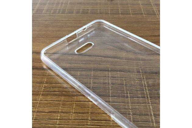 Фирменная ультра-тонкая полимерная из мягкого качественного силикона задняя панель-чехол-накладка для Alcatel 3C 5026D прозрачная