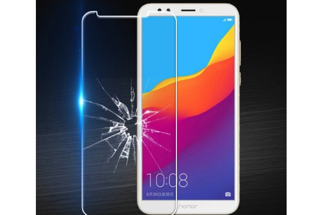 Фирменная оригинальная защитная пленка для телефона Huawei Honor 7C/ Huawei Honor Play 7A High глянцевая