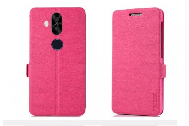 Фирменный чехол-книжка водоотталкивающий с мульти-подставкой для ASUS ZenFone 5 Lite ZC600KL 3/ 4 розовый