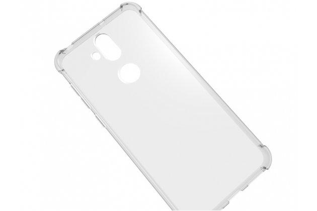 Фирменная ультра-тонкая полимерная из мягкого качественного силикона задняя панель-чехол-накладка для ASUS ZenFone 5 Lite ZC600KL 3/ 4 прозрачная
