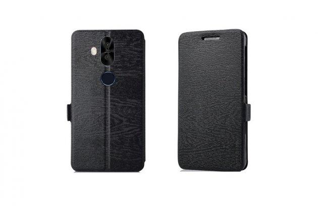 Фирменный чехол-книжка водоотталкивающий с мульти-подставкой для ASUS ZenFone 5 Lite ZC600KL 3/ 4 черный