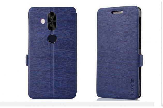 Фирменный чехол-книжка водоотталкивающий с мульти-подставкой для ASUS ZenFone 5 Lite ZC600KL 3/ 4 синий