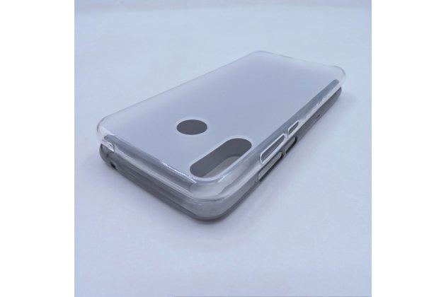 Фирменная ультра-тонкая полимерная из мягкого качественного силикона задняя панель-чехол-накладка для ASUS ZenFone 5/ 5Z (ZE620KL/ZS620KL) белая