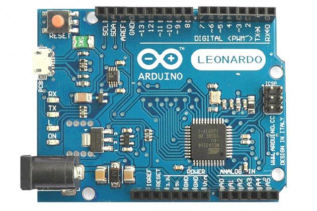 Программируемый контролер Arduino Leonardo R3 на базе ATMEGA32U4