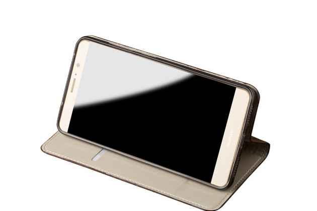 Фирменный роскошный эксклюзивный чехол с объёмным 3D изображением кожи крокодила коричневый для Huawei Y9 (2018) / Huawei Enjoy 8 Plus . Только в нашем магазине. Количество ограничено