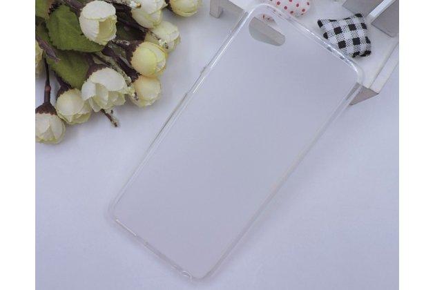 Фирменная ультра-тонкая полимерная из мягкого качественного силикона задняя панель-чехол-накладка для HTC Desire 12  Plus белая