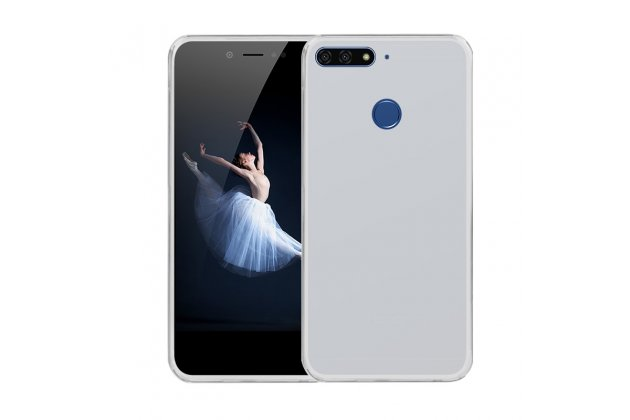 Фирменная ультра-тонкая полимерная из мягкого качественного силикона задняя панель-чехол-накладка для Huawei Honor 7A / Huawei Honor Play 7 Standart/ Y5 Prime 2018 белая