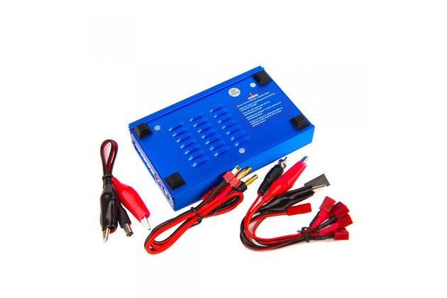 Фирменное интеллектуальное многофункциональное зарядное устройство IMAX B6 80W подходит под все виды автомобильных аккумуляторов и других типов батарей Li-Io, Li-Fe, Ni-Cd, Li-Po, Pb, Ni-MH
