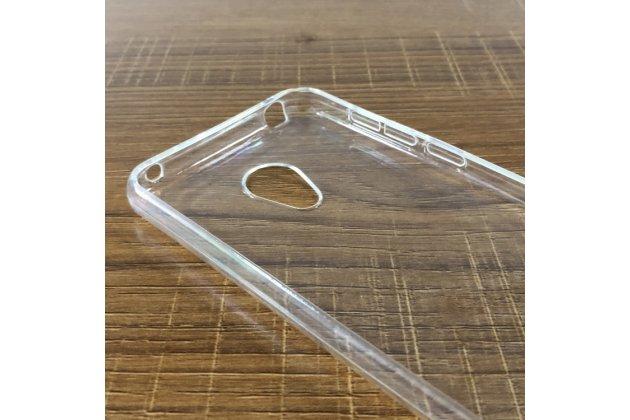 Фирменная ультра-тонкая полимерная из мягкого качественного силикона задняя панель-чехол-накладка для Alcatel 1C 5009D прозрачная