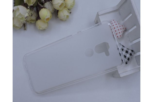 Фирменная ультра-тонкая полимерная из мягкого качественного силикона задняя панель-чехол-накладка для Alcatel 3X 5058I белая