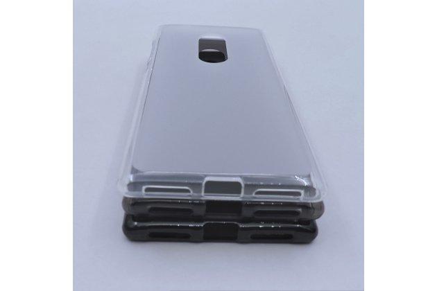 Фирменная ультра-тонкая полимерная из мягкого качественного силикона задняя панель-чехол-накладка для Alcatel 5 5086Y / Alcatel 5 5086D белая
