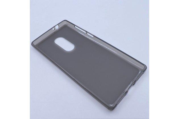 Фирменная ультра-тонкая полимерная из мягкого качественного силикона задняя панель-чехол-накладка для Alcatel 5 5086Y / Alcatel 5 5086D серая