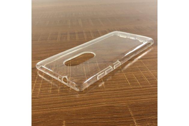 Фирменная ультра-тонкая полимерная из мягкого качественного силикона задняя панель-чехол-накладка для Alcatel 5 5086Y / Alcatel 5 5086D прозрачная