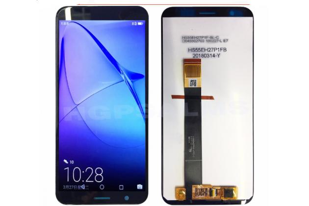 Фирменный LCD-ЖК-сенсорный дисплей-экран-модуль запчасть в сборе с тачскрином на телефон ASUS Zenfone Live L1 ZA550KL (X00RD) черный + гарантия