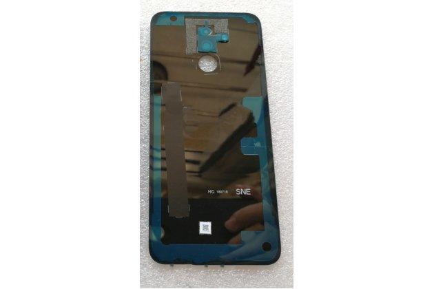 Родная оригинальная задняя крышка-панель которая шла в комплекте для Huawei Mate 20 Lite (SNE-LX1) черная