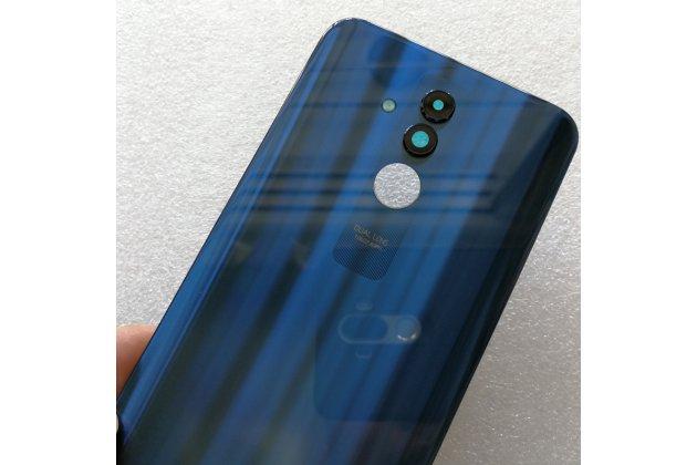 Родная оригинальная задняя крышка-панель которая шла в комплекте для Huawei Mate 20 Lite (SNE-LX1) синяя