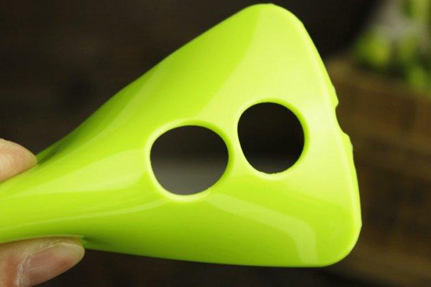Фирменная ультра-тонкая полимерная из мягкого качественного силикона задняя панель-чехол-накладка для Motorola Moto X1  / X2 (XT1085 / XT1097) красная