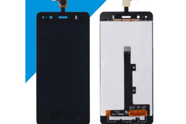 Фирменный LCD-ЖК-сенсорный дисплей-экран-стекло в сборе с тачскрином на телефон BQ Aquaris E4.5 / BQ Aquaris E4.5 Ubuntu Edition черный + гарантия