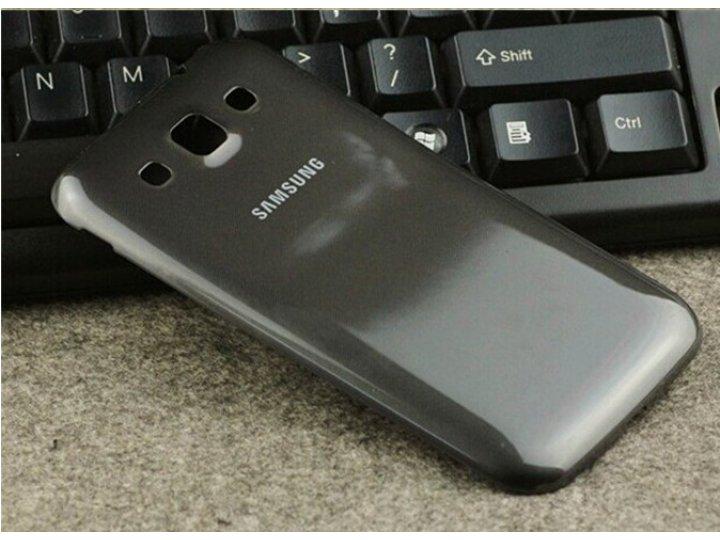 Родная оригинальная задняя крышка-панель которая шла в комплекте для Samsung Galaxy Win GT-I8552 черная..