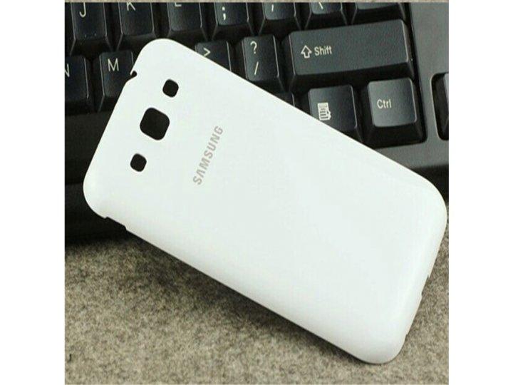 Родная оригинальная задняя крышка-панель которая шла в комплекте для Samsung Galaxy Win GT-I8552 белая..