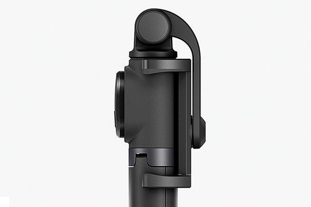 Многофункциональный оригинальный портативный универсальный штатив/ трипод селфи-палка Xiaomi с пультом управления с удобной ручкой белая