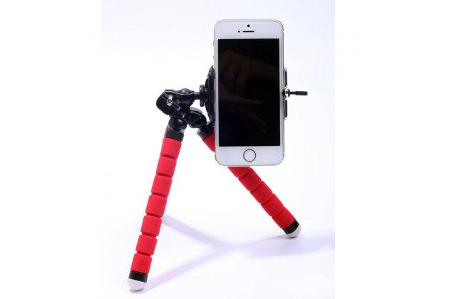 """Гибкая гнущаяся необычная селфи-палка/ штатив """"осьминог"""" с удобной ручкой для всех видов телефонов экшн-камер и фотоаппаратов с пультом ду"""