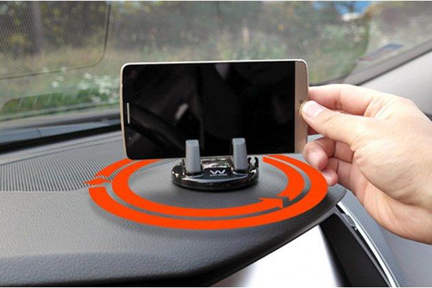 Автомобильный универсальный держатель-подставка для всех видов телефонов из качественного пластика