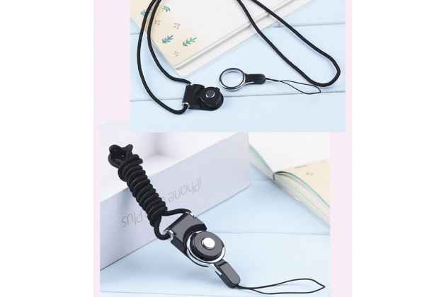 Фирменный удобный сменный ремешок поворотный на шею для телефона