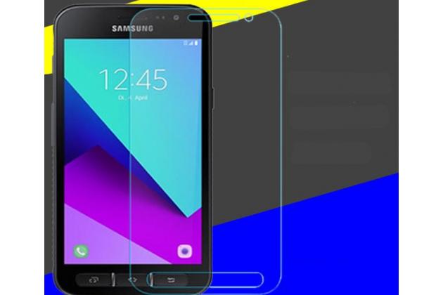 Фирменное защитное закалённое противоударное стекло для телефона Samsung Galaxy Ace 4 Neo SM-G318H/DS / Samsung Galaxy V Plus из качественного японского материала премиум-класса с олеофобным покрытием