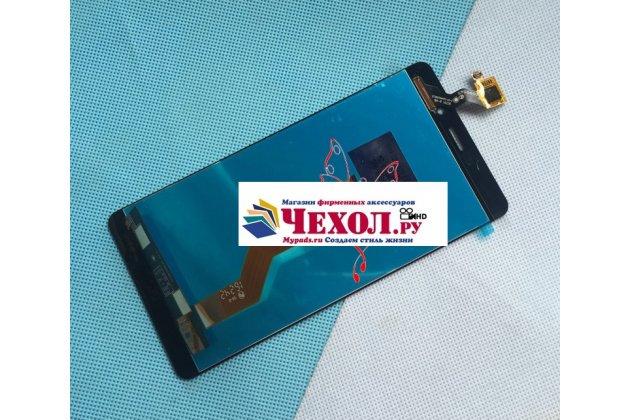 Фирменный LCD-ЖК-сенсорный дисплей-экран-стекло в сборе с тачскрином на телефон Elephone P9000 черный + гарантия