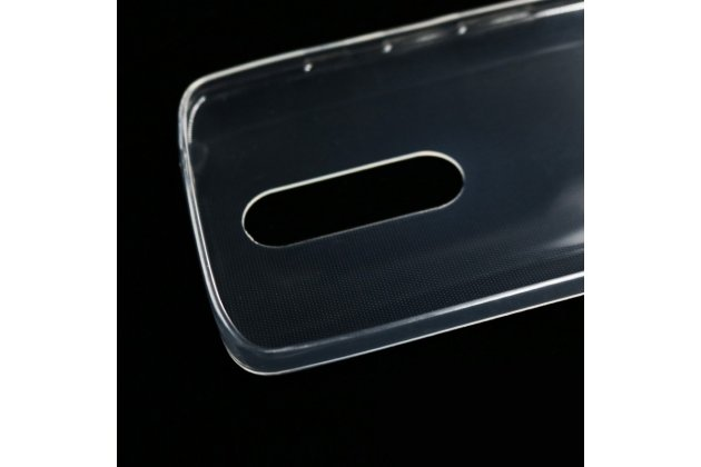 Фирменная ультра-тонкая полимерная из мягкого качественного силикона задняя панель-чехол-накладка для Motorola Moto G3 Gen.3 (XT1550/ XT1548) прозрачная