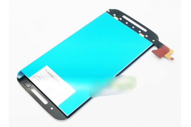 Фирменный LCD-ЖК-сенсорный дисплей-экран-стекло в сборе с тачскрином на телефон Motorola Moto E (XT1021/ XT1022/ XT1025) / Motorola Moto E Dual sim черный + гарантия