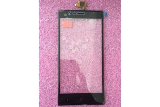 Фирменное сенсорное-стекло-тачскрин на Highscreen Boost 3/ 3 Pro черный + инструменты для вскрытия + гарантия
