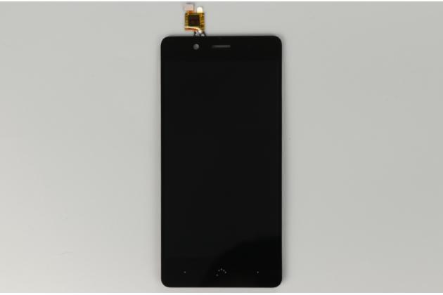 Фирменный LCD-ЖК-сенсорный дисплей-экран-стекло в сборе с тачскрином на телефон BQ Aquaris X5 Cyanogen Edition/ X5 Android Version 16Gb/32Gb черный + гарантия