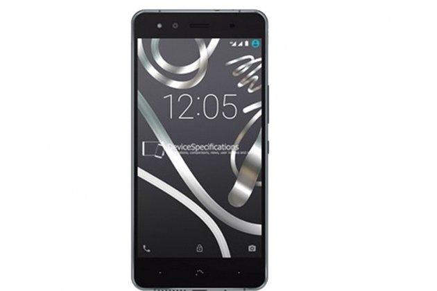 Фирменная оригинальная защитная пленка для телефона BQ Aquaris X5 Cyanogen Edition/ X5 Android Version 16Gb/32Gb глянцевая