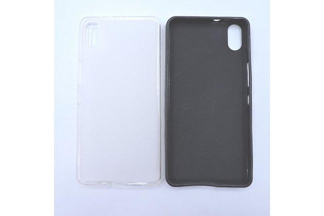 Фирменная ультра-тонкая полимерная из мягкого качественного силикона задняя панель-чехол-накладка для BQ Aquaris X5 Android Version 16Gb черная