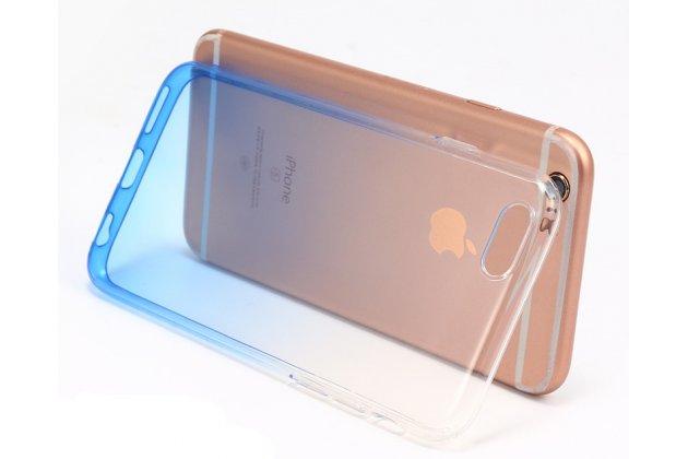 Фирменная ультра-тонкая полимерная задняя панель-чехол-накладка из силикона для Samsung Galaxy A8 2016 SM-A800x прозрачная с эффектом дождя