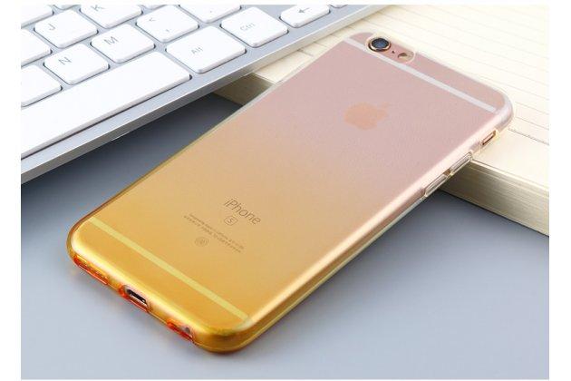 Фирменная ультра-тонкая полимерная задняя панель-чехол-накладка из силикона для Samsung Galaxy A8 2016 SM-A800x прозрачная с эффектом песка