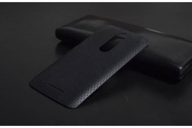 Родная оригинальная задняя крышка-панель которая шла в комплекте для Motorola Moto X Force (XT1585 / XT1581) 32Gb/ 64Gb черная
