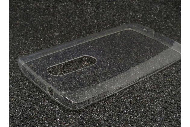 Фирменная ультра-тонкая полимерная из мягкого качественного силикона задняя панель-чехол-накладка для Motorola Moto X Force (XT1585 / XT1581) 32Gb/ 64Gb прозрачная
