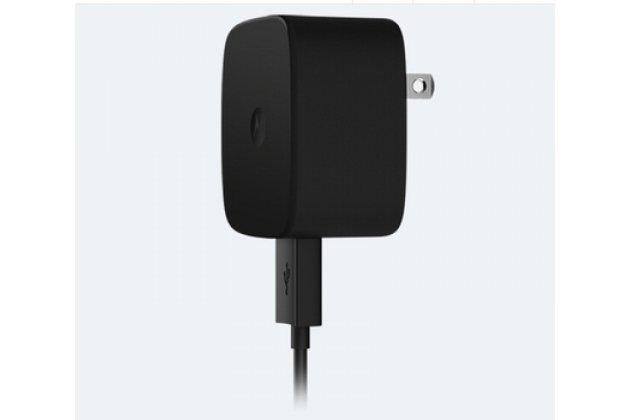 Фирменное оригинальное зарядное устройство от сети для телефона Motorola Moto X Force (XT1585 / XT1581) 32Gb/ 64Gb + гарантия