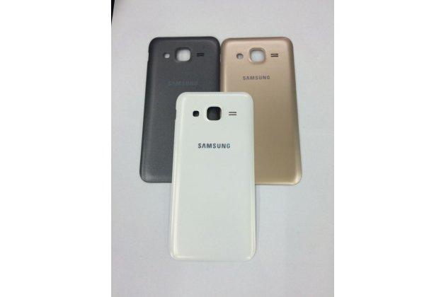 Родная оригинальная задняя крышка-панель которая шла в комплекте для Samsung Galaxy J2 SM-J200H/DS /J200F/ J200G 4.7 золотая