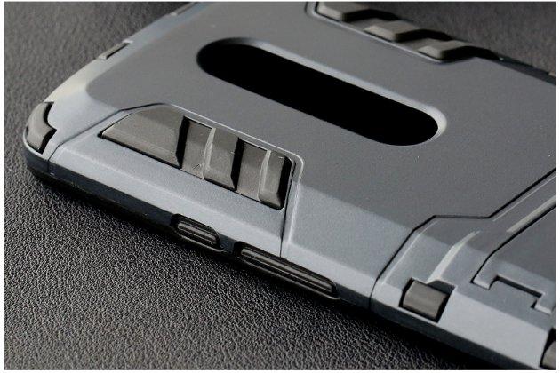 Противоударный усиленный ударопрочный фирменный чехол-бампер-пенал для Motorola Moto X Play (XT1561 / XT1562) серый