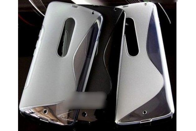 Фирменная ультра-тонкая полимерная из мягкого качественного силикона задняя панель-чехол-накладка для Motorola Moto X Play (XT1561 / XT1562) белая