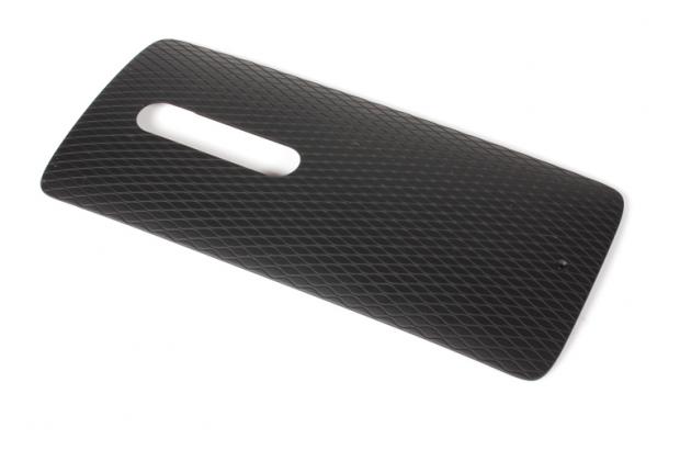 Родная оригинальная задняя крышка-панель которая шла в комплекте для Motorola Moto X Play (XT1561 / XT1562) черная