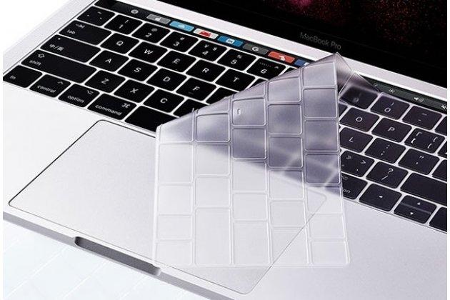 Защитная ультра-тонкая накладка для клавиш ноутбука Apple MacBook Air 13 Early 2015 ( MJVE2 / MJVG2) 13.3 / Apple MacBook Air 13 Early 2014( MD760 / MD761) 13.3 прозрачная