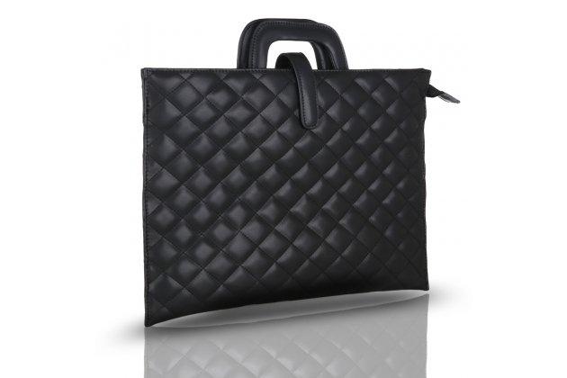 Фирменный оригинальный чехол-клатч-сумка для Apple MacBook Air 13 Early 2015 ( MJVE2 / MJVG2) 13.3 / Apple MacBook Air 13 Early 2014( MD760 / MD761) 13.3 из качественной стеганной кожи